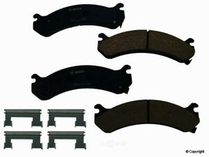 Disc Brake Pad Set-Bosch QuietCast Front WD Express 520 07840 462