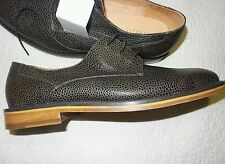 *Mens VANISHING ELEPHANT dark brown leather upper lining and sole sz. 12 NEW!