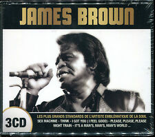 JAMES BROWN - LES PLUS GRANDS STANDARDS - BEST OF 3 CD ALBUM NEUF SOUS CELLO