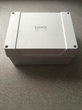 PLASTIC ADAPTABLE WEATHERPROOF JUNCTION BOX ENCLOSURE 200x160x100mm IP65 Hobby