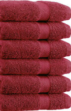 "Springfield Linen Premium 100% Cotton Soft-Bath Towels 27""X54"" Set Of 6 Pieces"