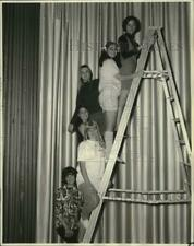 1968 Press Photo New Orleans East Jaycees' Junior Miss Pageant Finalists