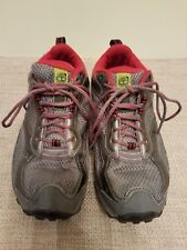 Women's Timberland Gray/Red Lace-Up Shoes, Size 6.5 Medium