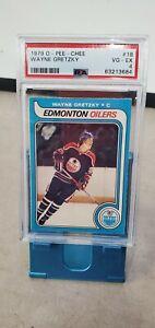 1979 O-Pee-Chee OPC #18 Wayne Gretzky RC Rookie PSA 4 First Print! T2981