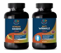 memory booster and focus - KOREAN GINSENG – ANTI-WRINKLE COMBO 2B - red ginseng