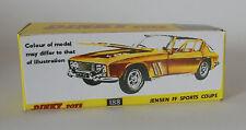 Repro box DINKY Nº 188 Jensen FF sport coupé vert ou jaune