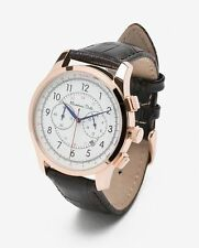 Massimo Dutti Men's Watch, Multifunction with 3 Exchangable Straps, 40mm