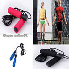 Fashion Unisex Non-slip Grip Crossfit Jump Rubber Skipping Rope Exercise Health