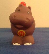 "Fisher Price Little People A To Z Alphabet ""H"" Hippopotamus Hippo"