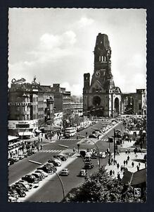 BERLIN, KURFURSTENDAMM Kaiser Wilhelm Memorial Church - POSTCARD B 157