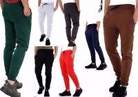 New Men's tracksuit bottoms fleece trouser sweatpants jogging  Gym Siz S-M-L-XL
