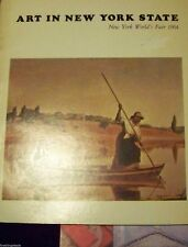 ART IN NEW YORK STATE WORLD'S FAIR 1964 - THE RIVER: PLACES AND PEOPLE CATALOG