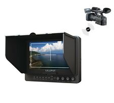 """Lilliput 665/WH 7"""" Wireless HDMI WHDI Field Monitor for DSLR & Full HD Camcorder"""