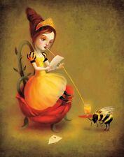 Lebowski Leslie Ditto Art Print 10x19