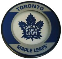 TORONTO MAPLE LEAFS NHL BASIC LOGO OFFICIAL HOCKEY PUCK INGLASCO MADE IN 🇸🇰