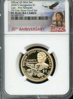 2020 S Sacagawea $1 Law First Releases From 10-Coin Set NGC PF70 UC Portrait-ANN