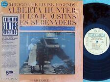Alberta Hunter with Lovie Austin's US Reissue LP Blues serenaders EX Riverside