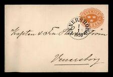 DR WHO 1898 SWEDEN VENERSBORG STATIONERY  f54253