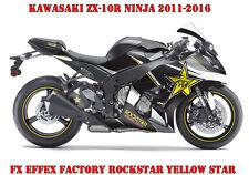 FX  FACTORY DEKOR KIT KAWASAKI NINJA 250,350,650,ZX-6R,ZX-10R ROCKSTAR Y. STAR B