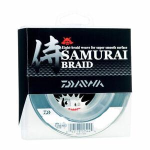 Daiwa Samurai Braid Braided Fishing Line, Dark Green - 150, 300, 1500yd