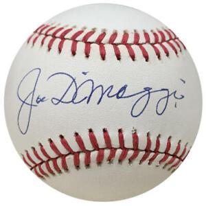 Joe DiMaggio Single Signed Baseball, Graded Auto PSA Gem Mint 10