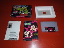 Joe & Mac (Super Nintendo Entertainment System, 1992 SNES) -Complete