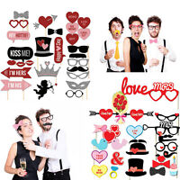 Party Props Photo Booth Valentines Party Events Funny Faces Selfie Photography