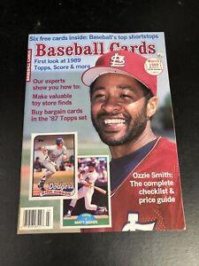March 1989 Baseball Cards Magazine 6 Card Insert  Smith Sheffield Ripken MINT