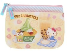2019 Sanrio Hello Kitty Mix Sanrio Characters Two Zip Pouch coin bag