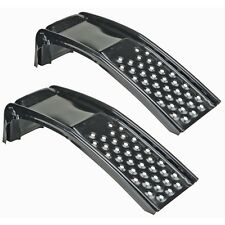STEEL CAR RAMPS METAL DRIVE ON UP AUTO  VEHICLE LIFT TIRE GARAGE PAIR 6500 LBS
