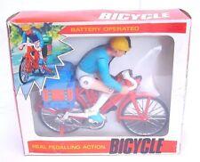 Hk Hong Kong Bicylce 20cm Real Pedalling Bike Batt.Op. Plastic Model Mib`76 Rare