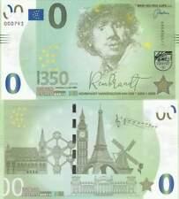 Biljet billet zero 0 Euro Memo - Rembrandt (055)