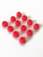12pcs:Large Red Replacement Set Comfort Eartips Earbuds for Sennheiser