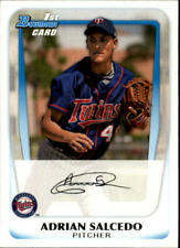 2011 Bowman Baseball Prospects #BP58 Adrian Salcedo Minnesota Twins