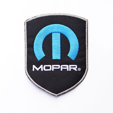 MOPAR SHIELD LOGO IRON-ON PATCH Dodge, Ram, Jeep