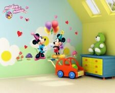wall stickers kids Room Decor Decals Mickey Mouse Disney Boys Girls gift Cartoon