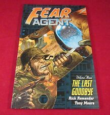 FEAR AGENT THE LAST GOODBYE DARK HORSE BOOKS VOL #3 TPB