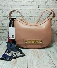 LOVE MOSCHINO BAG WOMENS  BNWT WITH DUST BAG & SCARF GORGEOUS GENUINE MOSCHINO