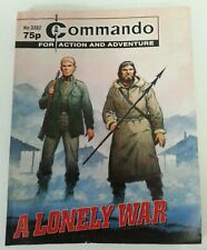 COMIC - Vintage Commando For Action & Adventure Comic No. 3382 A Lonely War
