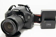 Canon EOS Rebel T3i / EOS 600D 18.0MP with kit 18-55 af-s vr lens