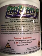 ProForm-C DiseaseTreatment for Koi ponds 1 gallon Limited Stock Free Shipping