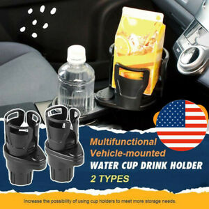 2in1 Adjustable Multifunction Auto Car Seat Cup Holder Water Bottle Drink Coffee