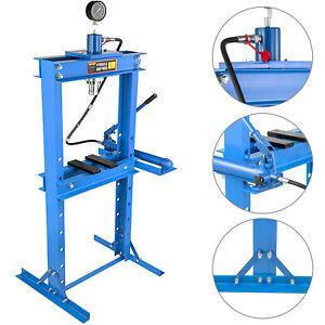 Werkstattpresse Hydraulikpresse Presse 20t mit Manometer und Pumpe CE