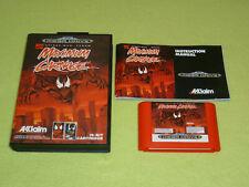 Spider-Man Venom Maximum Carnage PAL OVP CIB Sega Mega Drive VGC Top Zustand RAR
