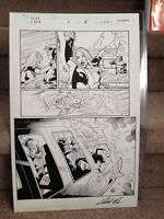 Dark X-Men #1 Page #15 Original Art Page Leonard Kirk