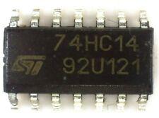 10 M74HC14Y  ST HEX schmitt invertor 74HC14 SO14 74HC14D