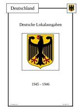 Deutsche Lokalausgaben Deutschland Vordruckblätter Vordrucke Digitaler Download