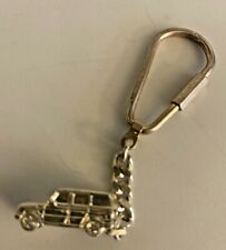 Sterling Silver Key Chain - Jeep or Land Rover - Marked 925