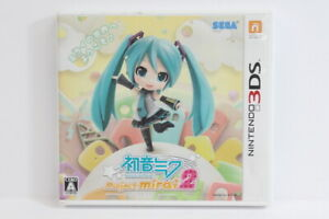 Hatsune Miku Project Mirai 2 W/ Trading Cards Nintendo 3DS Japan Import 3D003