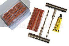 métal urgence voiture moto tubeless pneu crevaison Kit de réparation OUTILS + 65
